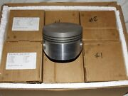 6 New Lycoming Pistons 75089 8.51 Compression Ratio 320 340 360 480 540 541 720