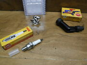 1982 82 Honda Atc70 Atc 70 Ignition Tune Up Kit Spark Plug Points And Coil Cap