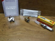 73-81 Honda Atc70 Atc 70 Spark Plug And Breaker Points And Condenser Tune Up Kit