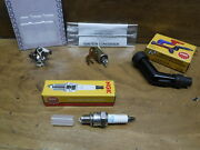83-85 Honda Atc70 Atc 70 Breaker Points And Condenser And Spark Plug And Cap Boot Free