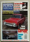 Ford Heritage Car Magazine Apr/may 1997 Issue 20 Rs1600 Escort Corsair Restored
