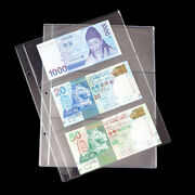 Album Pages Pockets Money Bill Note Currency Holder Collection Albums Folder Sa