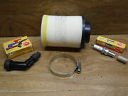 1987 1988 Honda Fourtrax 125 Tune Up Kit Air Filter Spark Plug And Coil Cap Boot