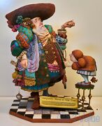 James Christensen Sculpture A Lawyer More Than Adequately Attired In Fine Print