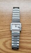 Diamond Bezel 100l Mother-of-pearl Face Ladies Watch Or Mens 1ct T.w G/vs