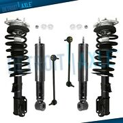 Volvo S70 C70 850 Struts + Shock Absorbers + Sway Bars For All Front And Rear 2wd