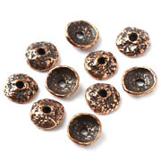 Nature Inspired Antique Bronze Acorn Bead Cap Jewelry Findings For Earrings 1533