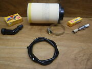 1983 83 Atc185s Tune Up Kit Air Filter Spark Plug And Cap Igntioin Coil Wire Atc