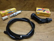 1983 83 Honda Atc185s Ignition Tune Up Kit Coil Wire Spark Plug Cap Boot Atc