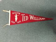 1940's Boston Red Sox Ted Williams Baseball Team 26 Pennant