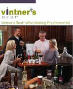 Vintners Best Wine Equipment Kit With Double Lever Corker