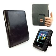 Tuff-luv Personalised Embrace Plus Vintage Leather Case Cover For Kindle Fire Hd