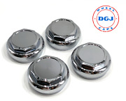 Hex Cut Chrome Knock-off Spinner Cap For Lowrider Wire Wheels