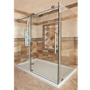 Lbsec34576-cb Shower Enclosure Glass Side Panel Only No Door