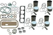 Engine Overhaul Rebuild Kit Ford 800 900 4000 Tractor 172 4 Cyl Gas Engine