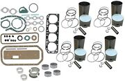 Engine Overhaul Rebuild Kit Ford 900 901 940 941 951 960 961 Tractor 4 Cyl Gas