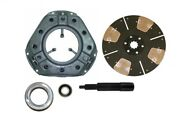Heavy Duty 4-pad Clutch Kit Ford 900 901 941 950 951 960 961 971 Tractor