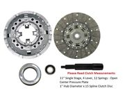 Ford Tractor 11 Single Stage 4 Lever 12 Springs 1 X 15 Spline Clutch Kit