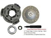 11 Clutch Kit Ford Tractor 3000 3055 3100 3120 3190 3300 3310 3330 3400