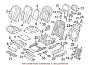For Bmw Genuine Seat Back Cover Front Left 52107412743
