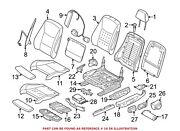 For Bmw Genuine Seat Cushion Pad Front Right 52107354194