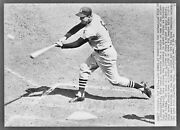 Hall Of Fame Legend Stan Musial 3000th Hit Classic 8x10 Photo 8x10
