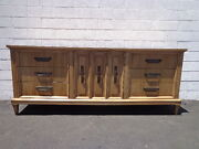 Dresser Mid Century Modern Console Table Mcm Chest Of Drawers Bedroom Storage