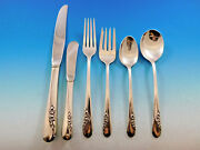 Blossom Time By International Sterling Silver Flatware Set 8 Service 58 Pieces