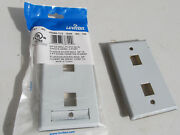 Lot Of 75 New Leviton 43080-1l2 430801l2 Stainless Steel Wall Plate 1-gang