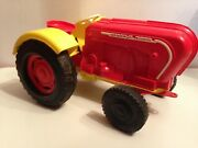 Tres Rare Ancien Tractor Porsche Diesel Electric Ms Toy Western Germany