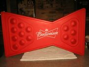 Ultimate Budweiser Red Foam 14 Cup Floating Beverage Holder 4 Pool And Lake
