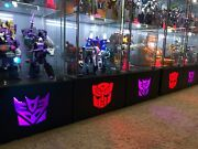 Custom Light Up Detolf Display Base For Transformers Masterpiece G1 Base Only