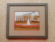 President Gerald Ford Autograph, Signed Photograph, Framed