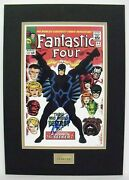 Fantastic Four 46 Poster Signed By Stan Lee. The Seeker