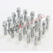 20 M14x1.5 Ball Seat Lug Bolts Overall 70mm For Mercedes Benz Cl550 Cl600 E200