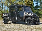 Superatv Heavy Duty Full Cab Enclosure Doors For Polaris Ranger Xp 900 Crew