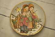 Vintage 1979 Ltd V Tiziano Christmas The Carolers Collectors Plate 65 Of 7500