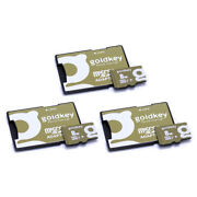 Goldkey Micro Sd 8gb Class 10 Memory Card.android, Samsung And Nintendo. Pack Of 3