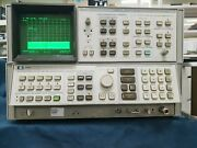 Hp / Agilent 8566b Spectrum Analyzer 100hz-22ghz With Cable As Is Selling1521