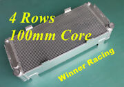 4 Rows 100mm Core Radiator Ford Gt40 V8 1964-1969 Aluminum Much Better Cooling