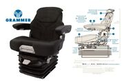 Grammer 12v Air Suspension Seat For Kubota Tractor Air Ride Seat Assembly