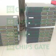 1pcs Used Cisco Ws-c3750x-24t-s Tested In Good Conditon Fast Ship