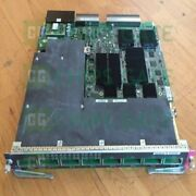 1pcs Used Cisco Ws-x6708-10g-3c Tested In Good Conditon Fast Ship