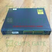 1pcs Used Cisco Ws-c2960s-24td-l Tested In Good Conditon Fast Ship