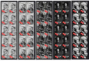 Thomas Edison American Icon Set Of 5 Mint Vignette Stamp Strips