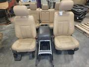 2011-2016 Ford F250 F350 Superduty Front Seat Rear Seat Tan Leather Power Lariat