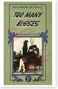 Too Many Kisses Penny Arcade Mutoscope Movie Marquee Poster