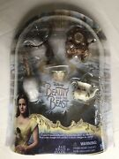 Disney Beauty And The Beast Castle Friends Collection, 2016-hasbro Figurines New