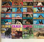 Horse Illustrated Magazine Lot 20 Issues 1980-99