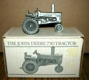 John Deere 730 Pewter Tractor 1/43 Spec Cast Toy Jdm-006 Historic Collection Jd
